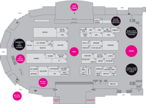 Hall plan for Art Fair - Art Copenhagen