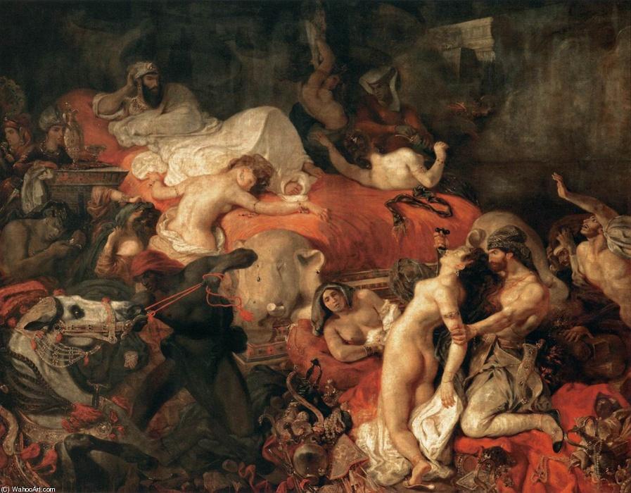 Delacroix, Sardanapalus