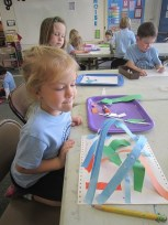 PreK Savannah Paper Sculpture