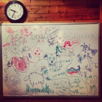 The Ever Changing White Board #1