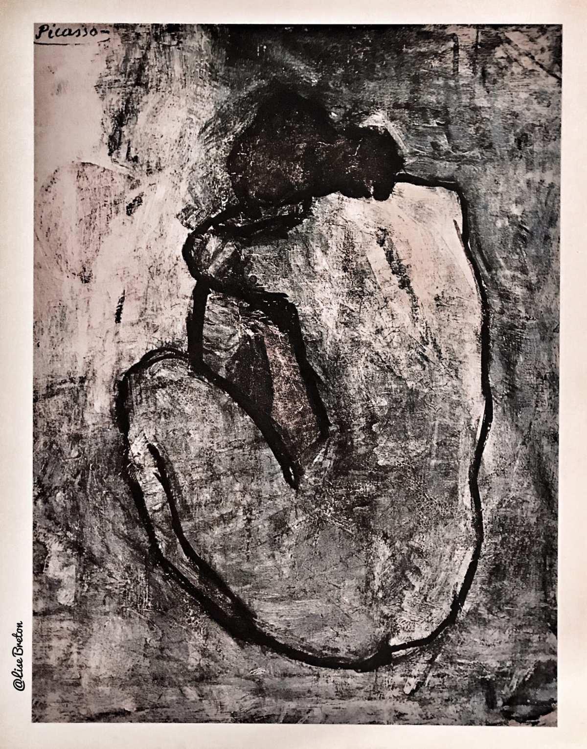 Oeuvre de Picasso Photo @Lise Breton