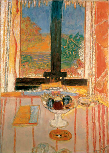 """Pierre Bonnard's """"Table In Front of The Window,"""" 1934-35"""