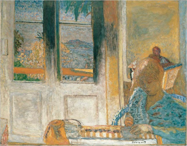 """Pierre Bonnard's """"The French Window (Morning at Le Cannet),"""" 1932"""