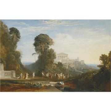 J.M.W. Turner's The temple of Jupiter Panellenius Restored