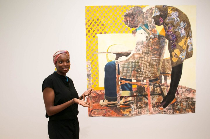 Njideka Akunyili Crosby collage