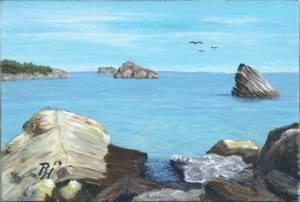 painting by Pat Harrison aka Rainer Hillebrand