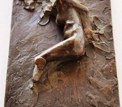 Nude, bronze