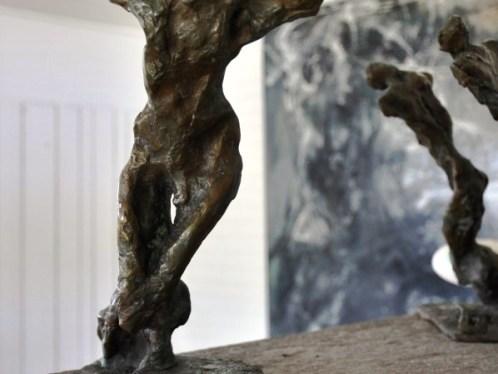 Pilgrim, bronze