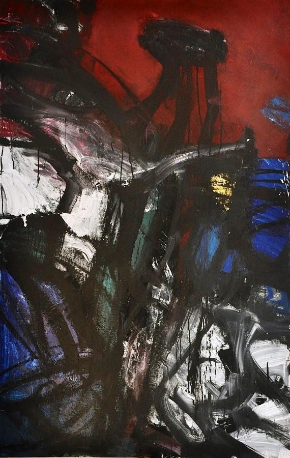 night-bird-acrylic-on-canvas
