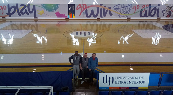 UBI Renova Pavilhão Desportivo N.º 1 @ UBI