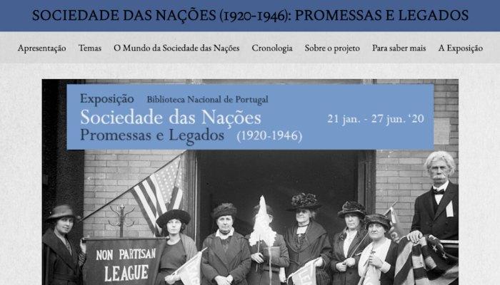 História Da Sociedade Das Nações Em Exposição Virtual — Notícias — IHC
