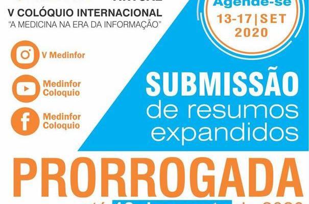 ATENÇÃO   Prorrogação #CallForPappers – 18 De Agosto De 2020  V COLÓQUIO INTERN…