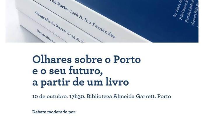 OLHARES SOBRE O PORTO E O SEU FUTURO, A PARTIR DE UM LIVRO.   10 De Outubro De 2…