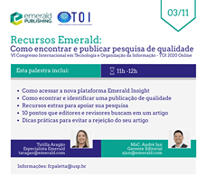 VI Congresso Internacional Em Tecnologia E Organização Da Informação – TOI 2020 …