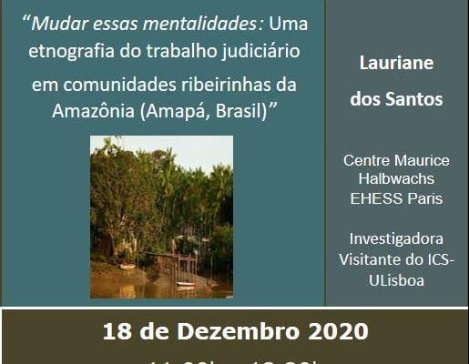 ESTA 6ª FEIRA DE MANHÃ – 11H00 – ICS+ONLINE  SEMINÁRIO GI IDENTIDADES, CULTURAS,…