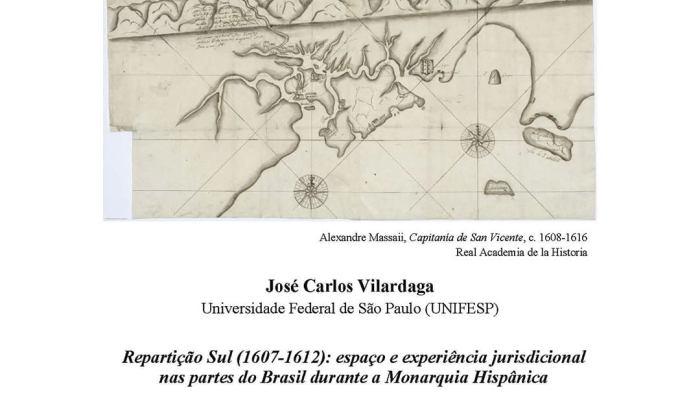 Hoje, Dia 19 De Janeiro, às 16h00, Online  Conferência «Repartição Sul (1607-161…