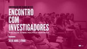 """Em Direto """"Encontro Com Investigadores"""": Ministro Manuel Heitor Conversa Com O…"""