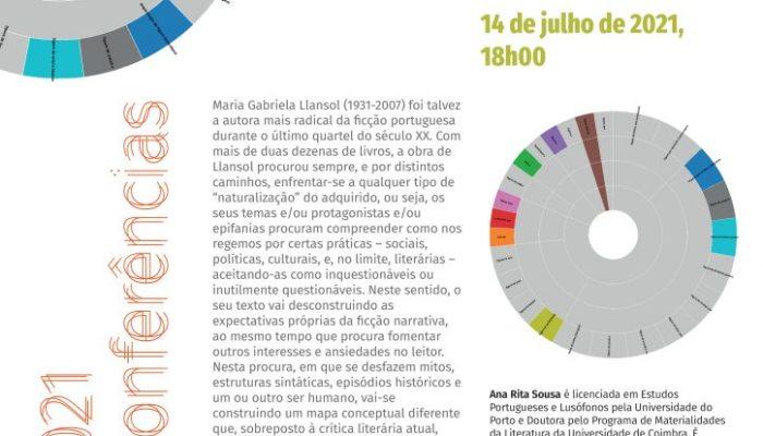 """Conferência """"Arqueologia Da Figura Llansoliana Ou A Arte De Descascar Conceitos"""" – Agenda UC"""