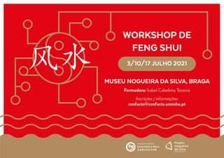 "Workshop De Feng Shui 风水 2021  Feng Shui Significa Literalmente ""Vento E Água""…."