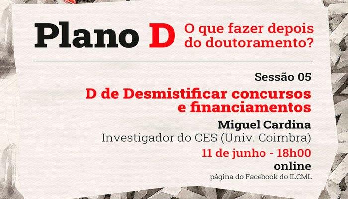 Sessão 05 Com Miguel Cardina