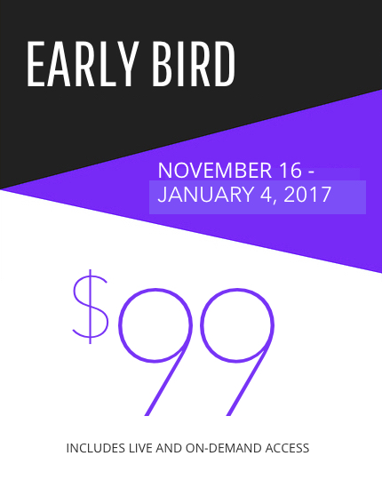 Early Bird Pricing