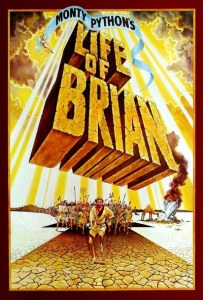 life of brian - moive poster - Arts MR