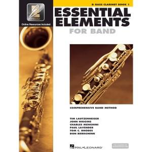 essential elements 1 bass clarinet