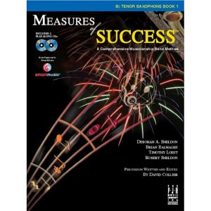 measures of success 1 tenor sax