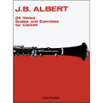 24 varied scales by albert - clarinet