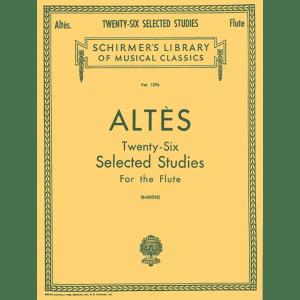 altes 26 selected studies flute