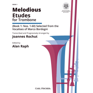 rochut-melodious etudes bk1 trombone