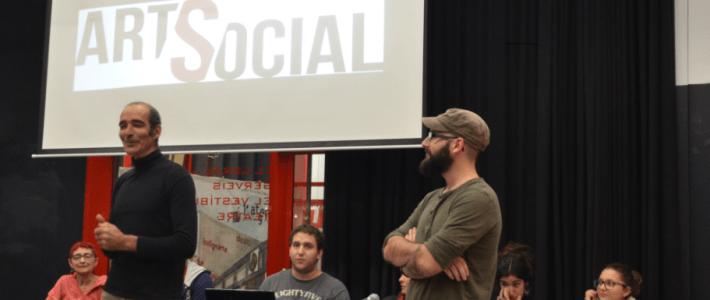 Presentació de la revista Art Social a l'Ateneu Popular 9Barris