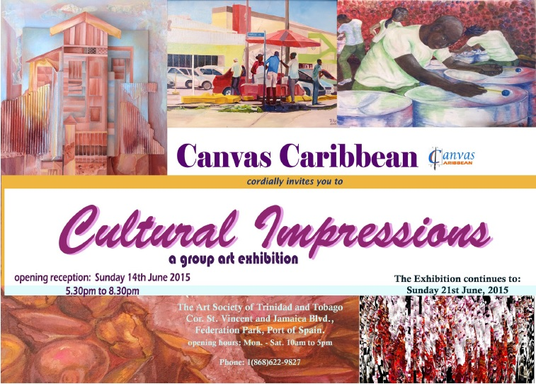Canvas Caribbean Exhibition - Cultural Impressions