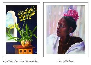Cheryl Blanc and Cynthia Bacchus Fernandes exhibit at Horizons