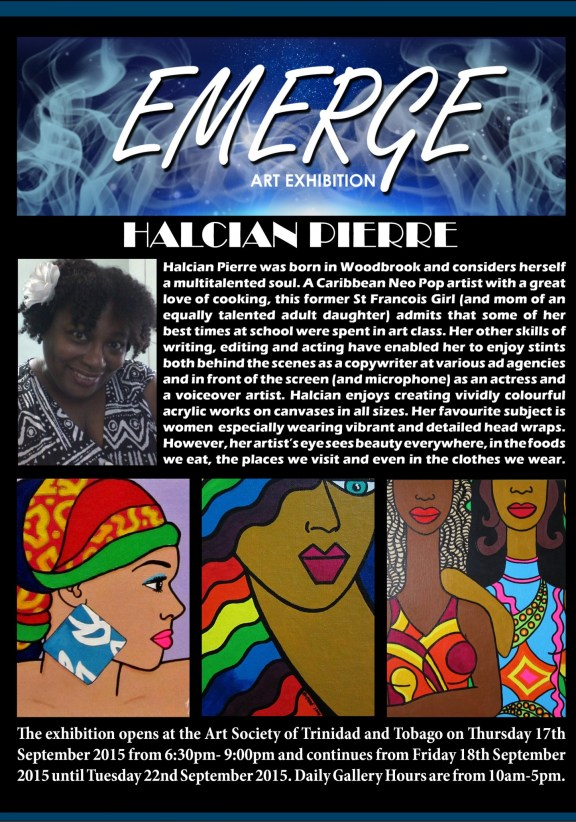 Emerge art Exhibation pr5(Halcian Pierre)