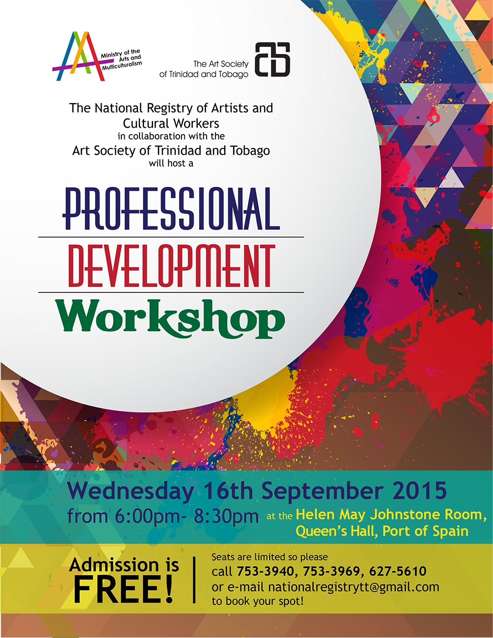 Professional Development Flyer [16-09-2015]