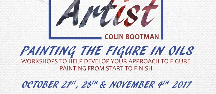 Oil Painting Workshop – Sitting With The Artist Colin Bootman