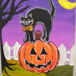 Canvas Painting - Halloween