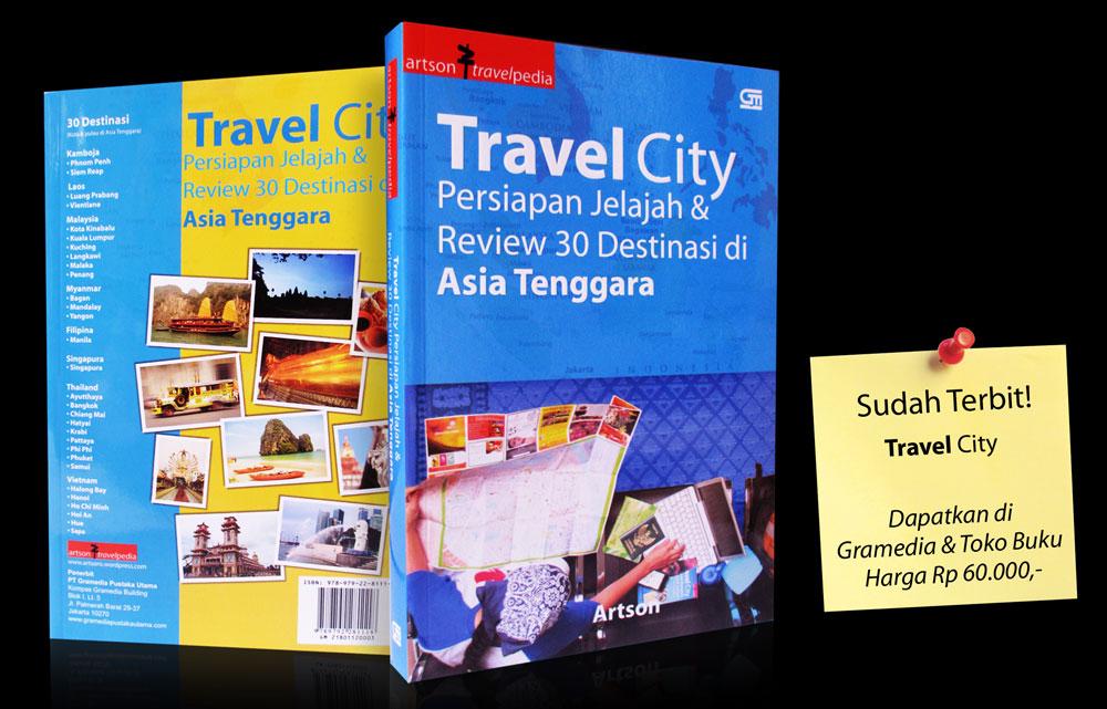 Sudah terbit buku Travel City !