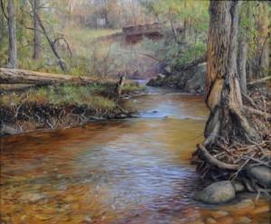 Passage, Eno River by Jennifer E. Miller