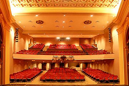 The historic Turnage Theatre in Little Washington