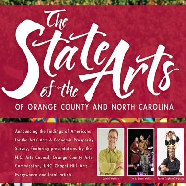 The OCAC and N.C. Arts Council present State of the Arts of NC and Orange County