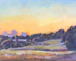 "Honorable Mention/Sponsor's Choice Award (Fox Hill Farm) ""As the Sun Sets"" by Irina Ushakova of Chapel Hill, NC"