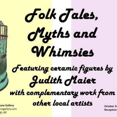 Artists Reception: Folktales, Myths and Whimsies