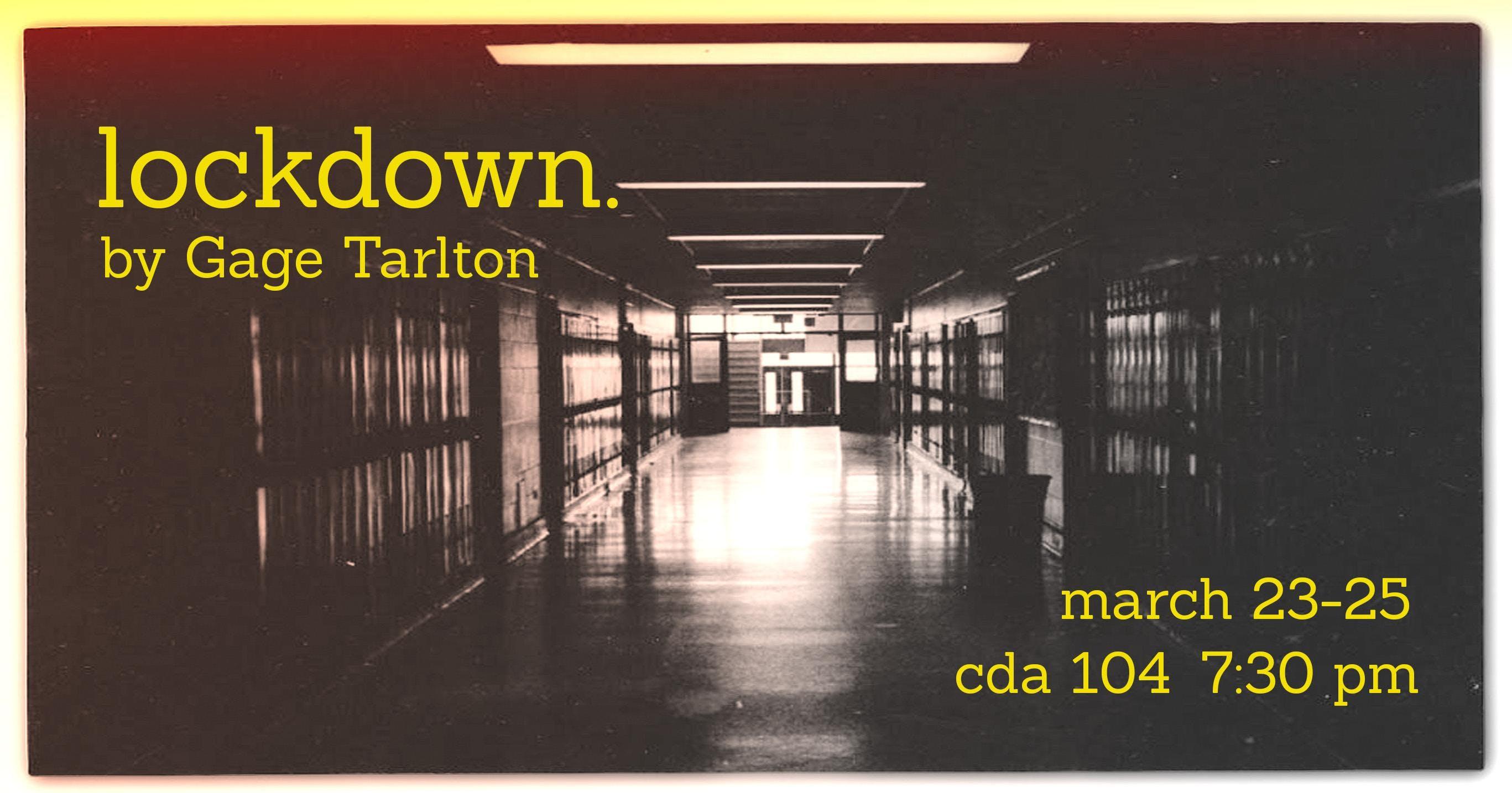 lockdown  (Saturday Night) - Orange Co  Arts Commission