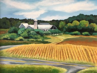 Honorable Mention: o Maple View Farm by Sandra Lett of Linden, NC