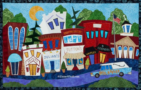 Elaine O'Neil-Textile Collage Artist