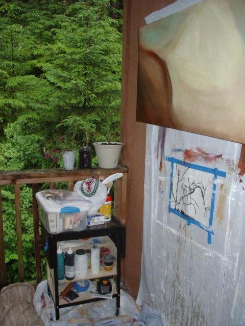 Outside Studio in Juneau