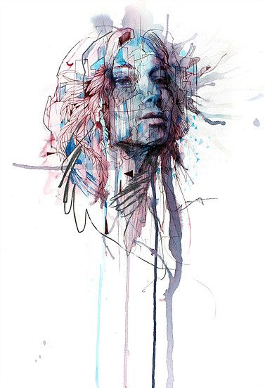 Range of Arts - Painting - Carne Griffiths - Unwind