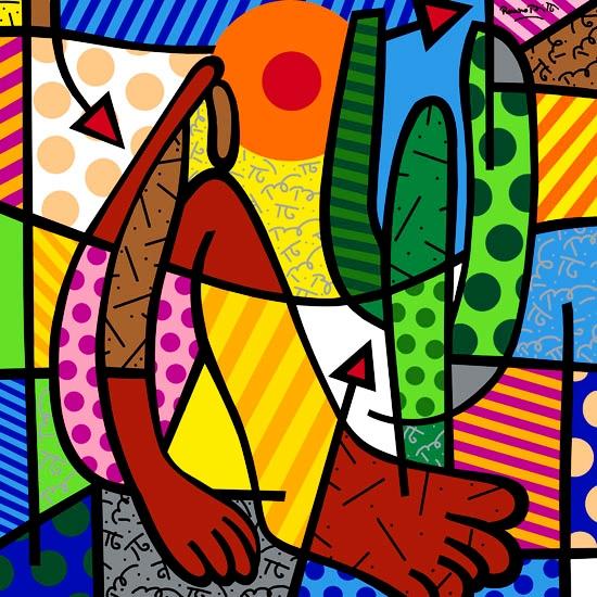 Range of Arts - Romero Britto - Fine Art Prints - Abaperu